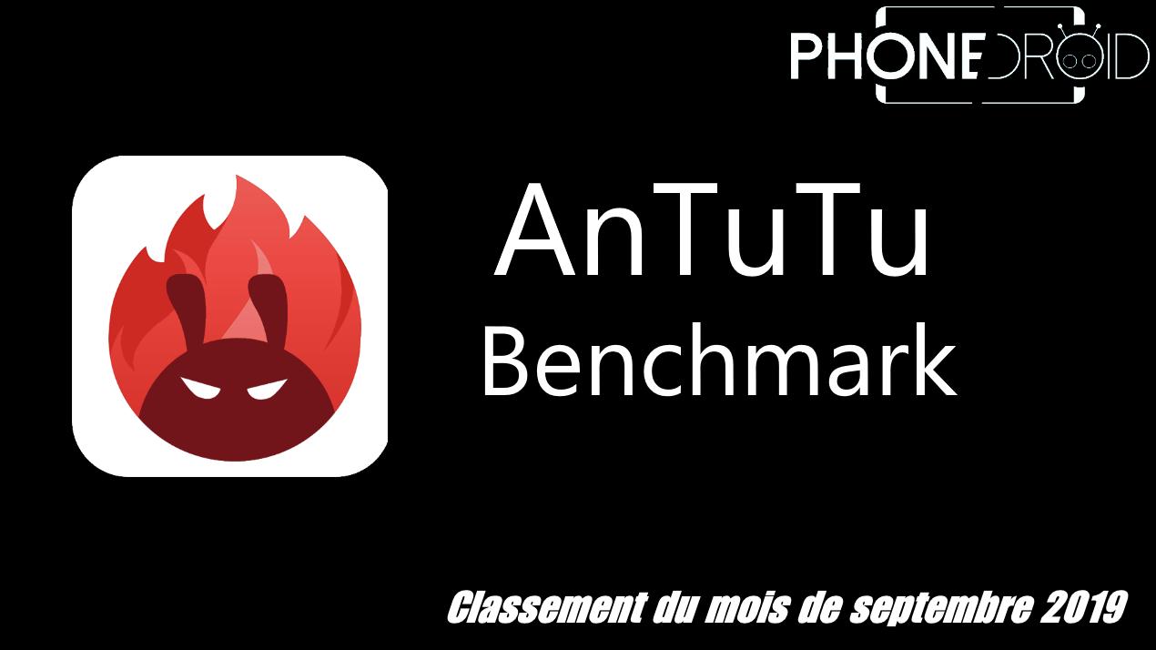 Classement Antutu Benchmark Septembre 2019