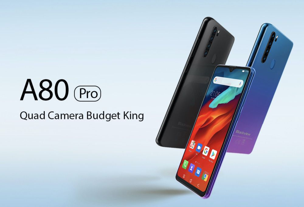 Blackview A80 Pro : le smartphone Quad Caméra à prix mini!
