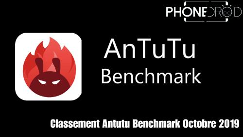 Classement Antutu Benchmark Octobre 2019
