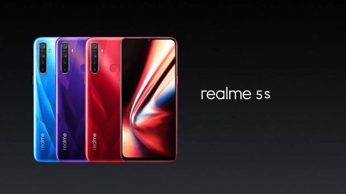 Realme 5S : une version plus poussée au niveau de la photographie