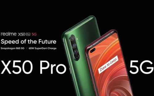 Realme X50 Pro 5G : la montée en gamme