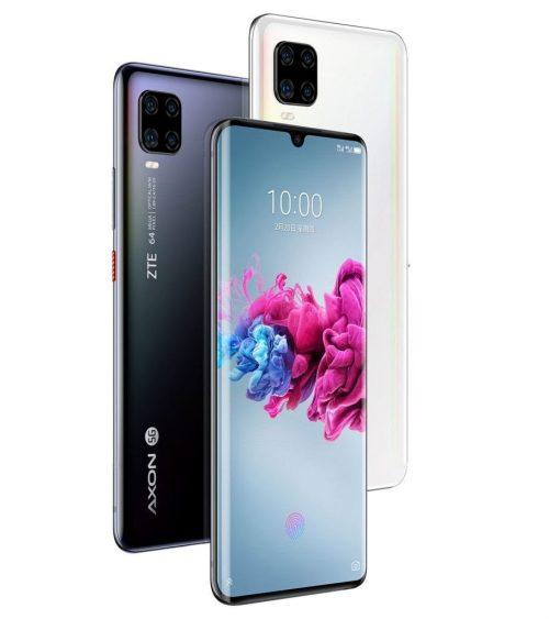 ZTE Axon 11 5G : écran incurvé et Snapdragon 765G
