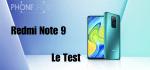 Test du Redmi Note 9 : pas de grande (r)évolution.