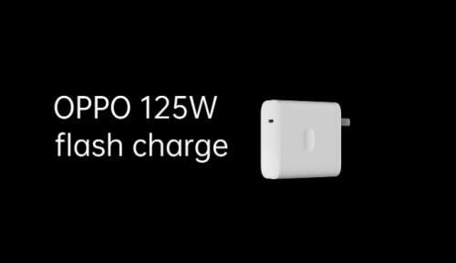 Oppo officialise la charge rapide 125W et la charge sans fil 65W