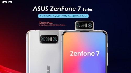 Asus Zenfone 7 : triple caméra rotative et grosse configuration