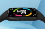 Honor Band 6 : une Smartband à l'écran Full Bordeless