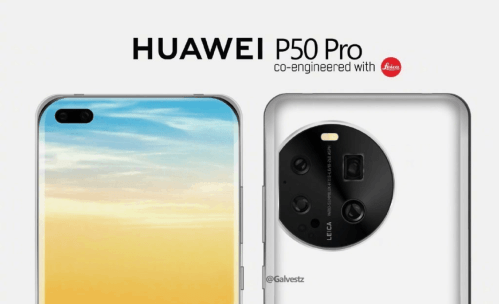 Huawei P50 séries : caméra à lentille liquide ?