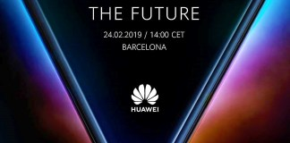Huawei's foldable phone Barcelona