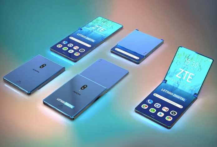 ZTE's vision of a foldable phone looks nothing like what we saw at MWC