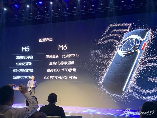 """8848 Titanium M6 5G luxury phone launches as the """"first"""" Snapdragon 865 phone"""