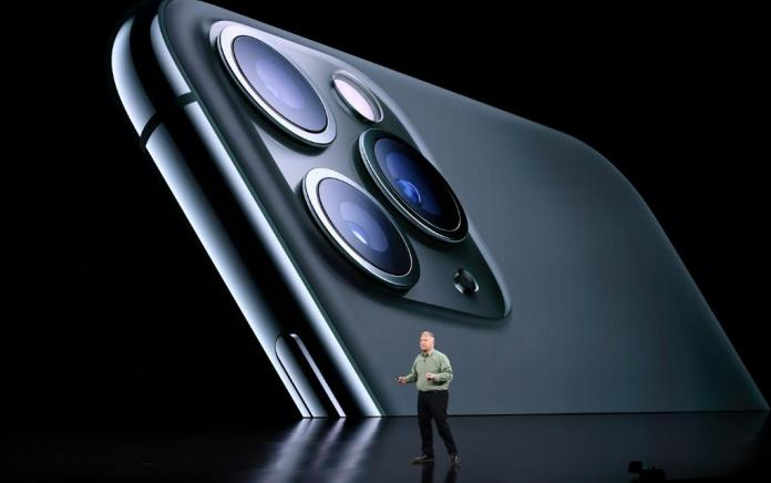 The iPhone 11 Pro's upgraded camera setup allows users to take breathtaking shots anytime. Photo: AFP / Josh Edelson