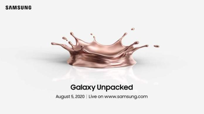 Samsung's next major smartphone launch set for August 5