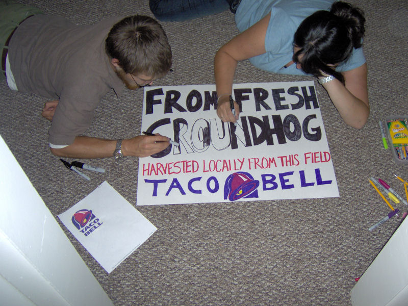 freelance marketing at taco bell phone losers of america