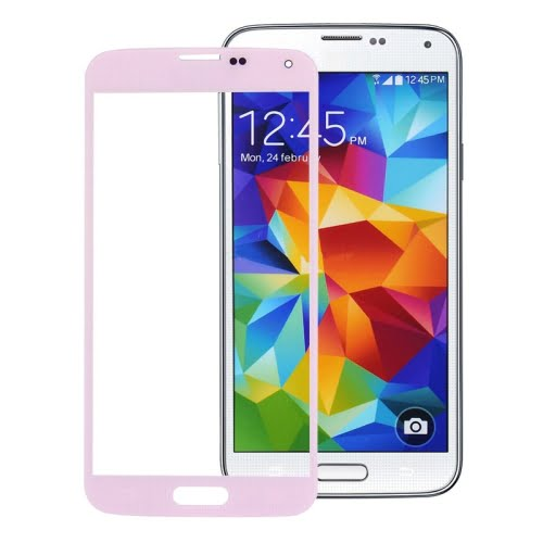 S5 Outer Glass Pink