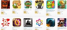 Amazon AppStore vous offre 105$ d'applications pour ces 4 ans