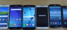 Samsung Galaxy S7 vs S6 vs S5 vs S4 vs S3 vs S2 – lequel est le plus rapide ?