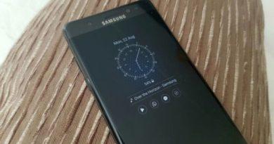 Galaxy Note 7 Always Displays