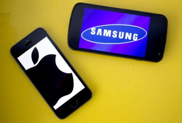 Samsung et Apple - iPhone 8