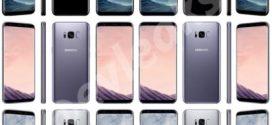 Galaxy S8 et S8 Plus : des images dévoilent les 3 couleurs disponibles
