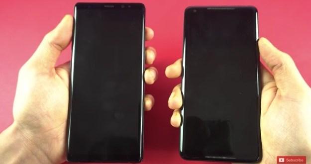 Speed Test: Samsung Galaxy Note 8 VS Google Pixel 2 XL