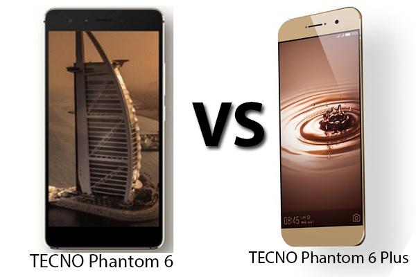 Tecno Phantom 8 vs Phantom 6 Plus