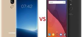 Comparatif Mobile: Doogee X60Lvs Wiko View