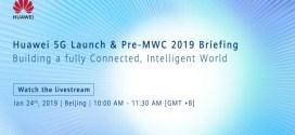 Huawei dévoilera ses plans pour la 5G ce 24 janvier