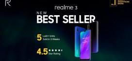 Realme 3 : Une variante avec 3 Go de RAM disponible aujourd'hui