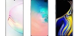 Samsung Galaxy Note 10+ et Galaxy Note 9 : Quelles sont les différences ?