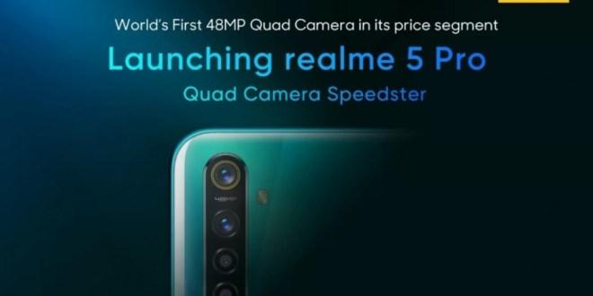 Realme 5 et Realme 5 Pro : découvrons le design et les spécifications