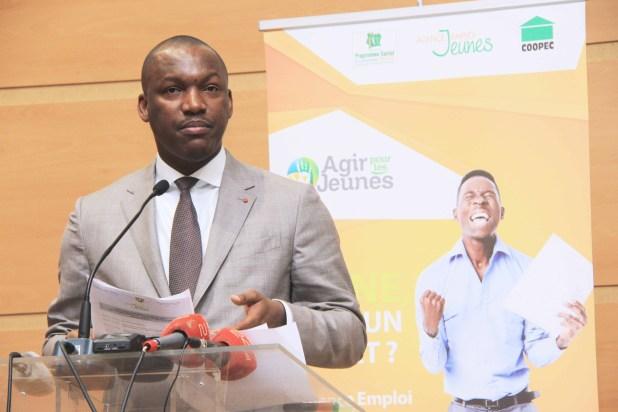Ministre Mamadou Touré - AGIR pour les jeunes