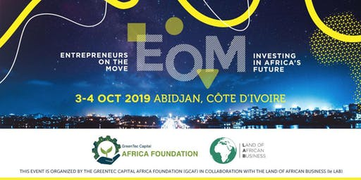 La Fondation GreenTec Capital Africa organise #EntrepreneursOnTheMove en octobre à Abidjan