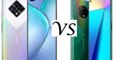 Infinix Zero 8 vs Infinix Note 7 1