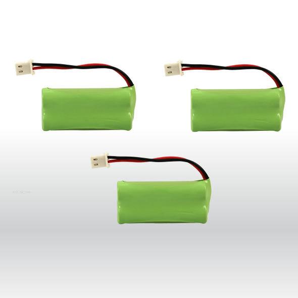 3 At&t Vtech Phone Battery 700mAh Ni-MH for BT166342 BT266342 BT183342 BT28334 bg