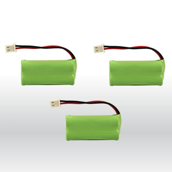 3 Home Phone Battery 700mAh Ni-MH for VTech BT166342 BT266342 BT183342 BT283342 BG