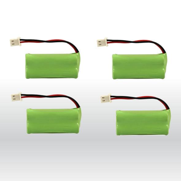 4 Vtech At&t Home Phone Battery 700mAh NiMH for BT162342 BT-162342 BT1623421