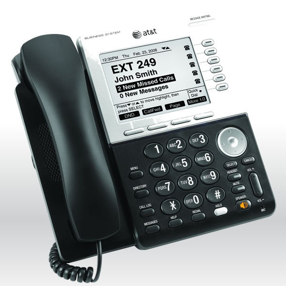 AT&T Synapse SB67030 Feature Business Phone with DECT 6.0 and Large 5in Display bg