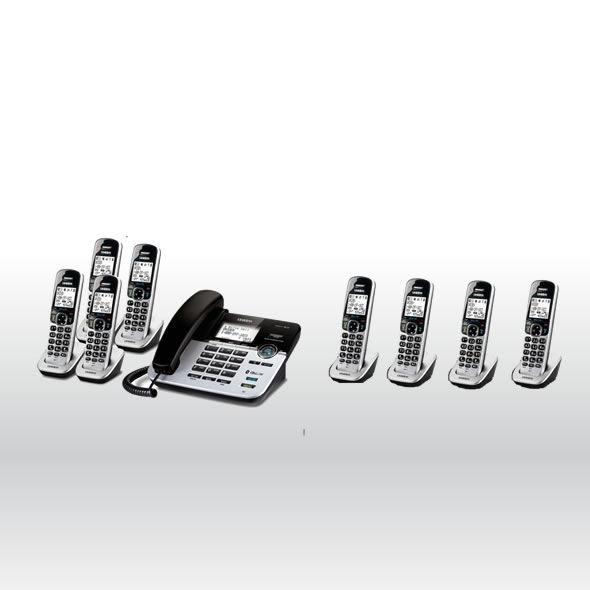 Uniden D1789-8BTABB DECT 6.0 Cordless Phone w 8 Cordless Handsets - D1789-4BT