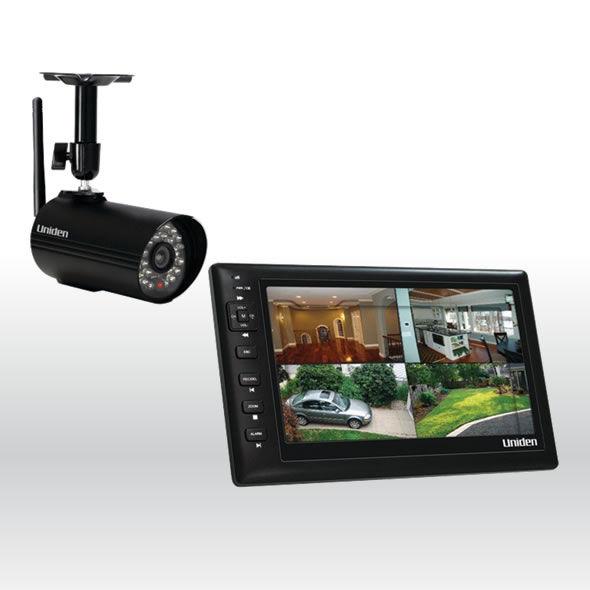 Uniden UDS655-1 UDS655 Wireless Single Camera Surveillance System w 7 MONITOR bg