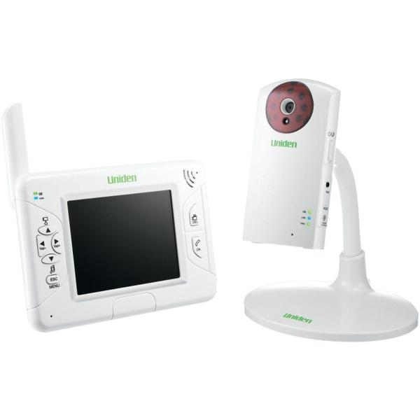 NEW Uniden UBW2101 3.5 Inch Color LCD NIGHT VISION 2.4GHz Wireless Baby Monitor 3