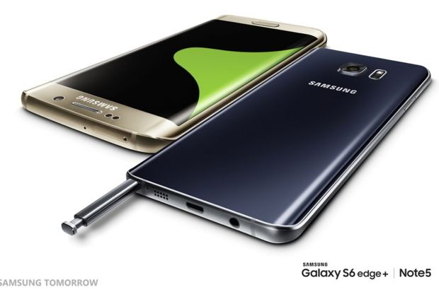 Galaxy Note5 and Galaxy S6 edge+ will have 128GB options after al