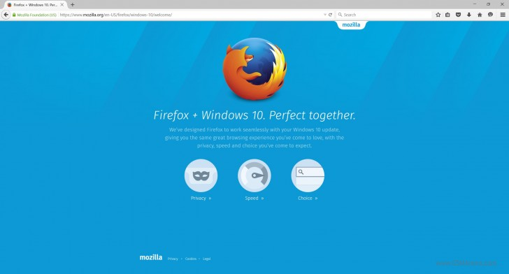 Firefox 40 is out with better support for Windows 10