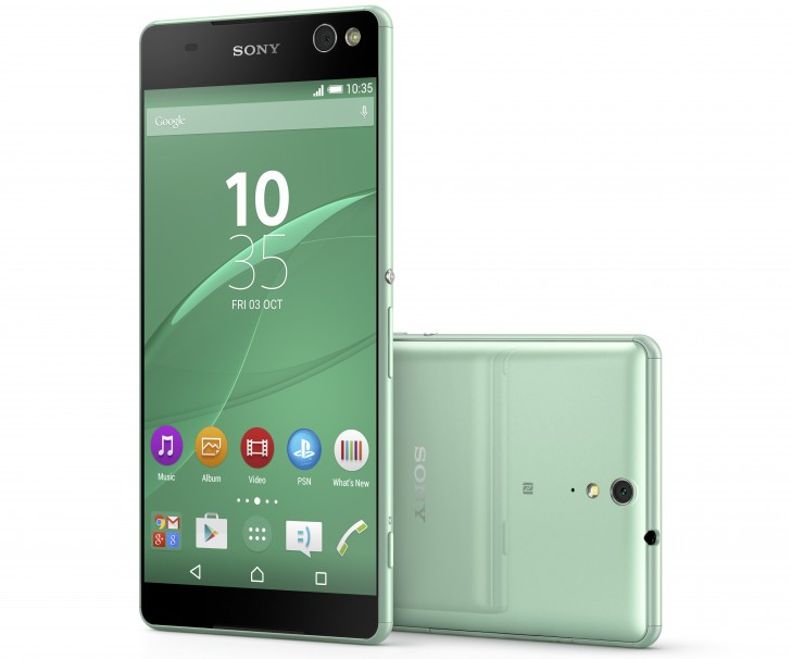 Sony announces the Xperia C5 Ultra and the Xperia M5