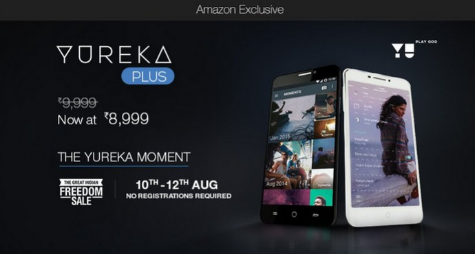 Yu Yureka Plus to go on open sale starting today