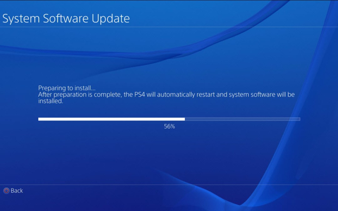 A new mandatory Playstation 4 System Software is now available!