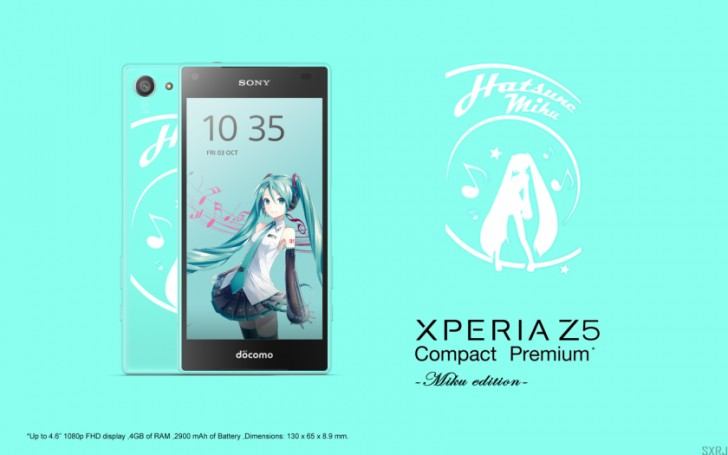 Xperia Z5 Compact Premium with 1080p display in Japan
