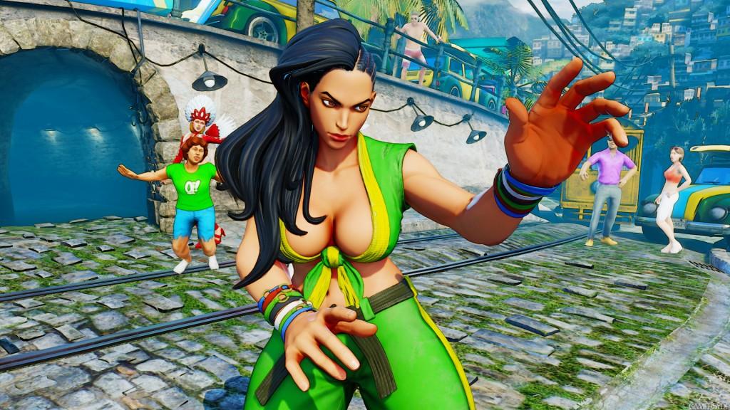 Street Fighter V unveils Laura