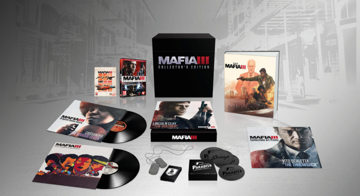 Mafia III Collector's Edition Detailed