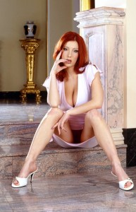 busty red head phone sex