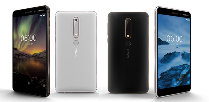 Nokia 6 (2018) unveiled with some powerful upgrades-Phones-In-Nepal